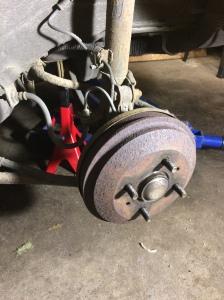 Hjulet borta
