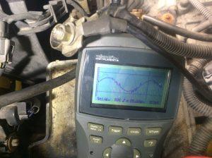 Oscilloskop-mätning felaktig sensor