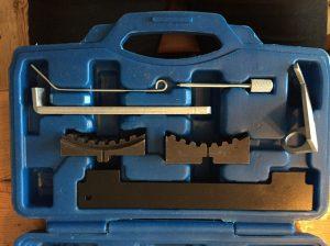 Låsverktyg för kamremsbyte till Opel Astra