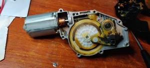 Insidan av bakre torkarmotor Hyundai i30
