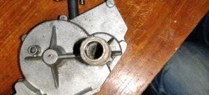 Axelbussning bakre torkarmotor